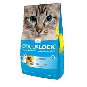 """חול לחתול 12 ק""""ג ODOURLOCK"""