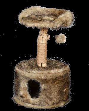 מתקן גירוד לחתול של חברת פטקס מעץ טבעי HY18341